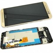 شاشة HTC M9 مع الفريم